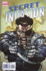 Secret Invasion #4 Leinil Yu Nick Fury Variant 1:50 Marvel comic book